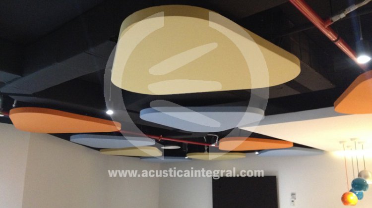 acustiart nuage acoustique triangle