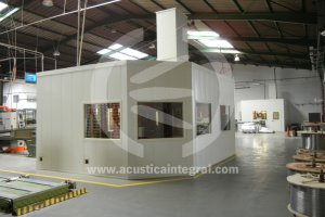 Cabine Acoustique Industrielle